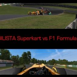 AUTOMOBILISTA Superkart vs F1 Formula Reiza   LOL