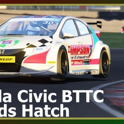 Assetto Corsa - Honda Civic BTTC - Brands Hatch