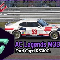 ASSETTO CORSA | AC LEGENDS MOD | FORD CAPRI RS 3100 | - ESPAÑOL HD -