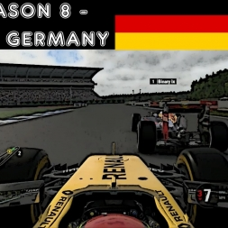 F1 2016 - F1XL Season 8 - Race 6: Germany