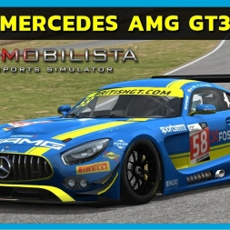 Automobilista - Mercedes-Benz AMG GT3 at Road Atlanta (PT-BR)