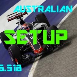 Autralian GP - Haas F1 Team - Setup (1.26.518) No Assists