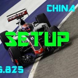 China GP - Haas F1 Team - Setup (1.35.825) No Assists.