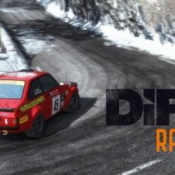 DiRT Rally - Approche du Col de Turini - Ford Escort MKII - 02:28.744