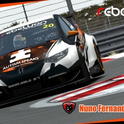 SlipstreamSims STCC 2016 - Nuno Fernandes #20 / Morábia Rebellion 9 - Guangdong