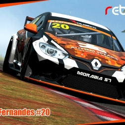 R4 Simracing TC 2016 - Nuno Fernandes #20 / Morábia Rebellion - Santa Cruz do Sul