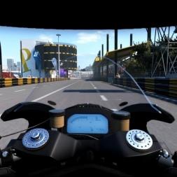 Kawasaki Ninja ZX10R BSB Team @ Macau - Ride 2 60FPS