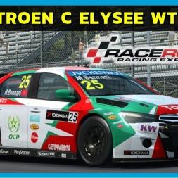 Raceroom - Citroen C Elysee WTCC 2015 at Monza Junior (PT-BR)