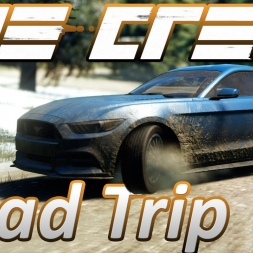 Road Trip - South Border to Tahoe Lake & Forest Part 2 - Time Lapse - The Crew Wild Run [4K]