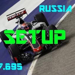 Russia GP - Haas F1 Team - Setup (1.37.695) No Assists.