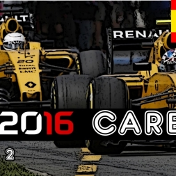 F1 2016 Career - S2R5: Spain - No Front Wing Damage!?