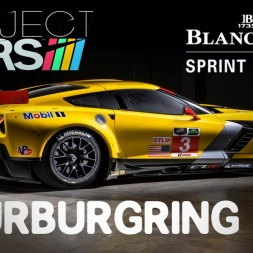 Project CARS Corvete C7R Nurburgring Setup + Race