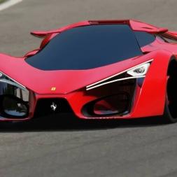 Assetto Corsa 1.8.1 (Ferrari F80 Concept)