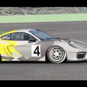 Assetto Corsa 1.8.1 Porsche GT4(dorsch cup 1.8.1)