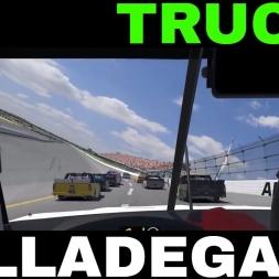 iRacing Official Nascar Trucks at Talladega Super Speedway