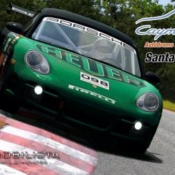 Automobilista - MOD - Porsche Cayman Cup @ Santa Cruz do Sul - 60FPS