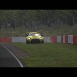 Nissan GT-R GT3 / Nordschleife / Crash