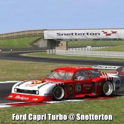 Ford Capri Turbo @ Snetterton - Automobilista 60FPS