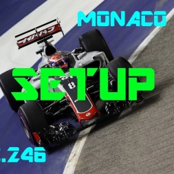Monaco GP - Haas F1 Team - Setup (1.13.246) No Assists.