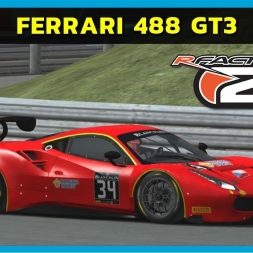rFactor2 - Ferrari 488 GT3 at Estoril (PT-BR)