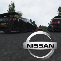 Assetto Corsa: GT-R @ Nordschleife in heavy traffic