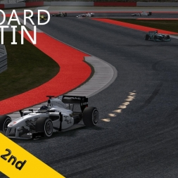 PSRL F1 2013 | United States Grand Prix | Balazs Toldi OnBoard
