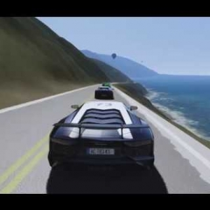 Pacific Coast - Police Chase - AC