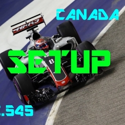 Canada GP - Haas F1 Team - Setup (1.13.545) No Assists