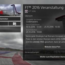 Durch den Regen auf das Podium? -F1 2016 #01 PSEvent | PS4 1080p60fps