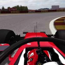 rFactor F1 2017 - Sebastian Vettel Testing in Fiorano (2017 Tyres & Halo)