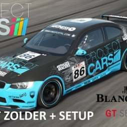 Project CARS Zolder with BMW M3 GT Race + setup