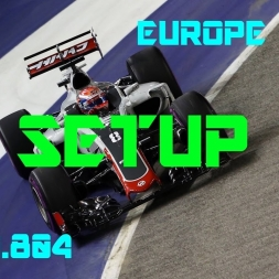 Europe GP - Haas F1 Team - Setup (1.41.804) No Assists