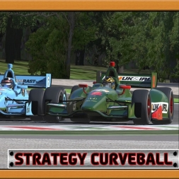 """iRacing: Strategy Curveball"" (Verizon IndyCar Series - 2016S4 - Round 6 - Monza)"