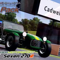 Automobilista - DLC - Caterham Seven 270R @ Cadwell Park - 60FPS
