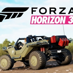 Forza Horizon 3 | Sprint Race | Halo Warthog