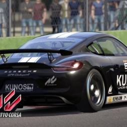 Assetto Corsa - DLC Porsche Pack I - Porsche Cayman GT4 Clubsport - Imola Gameplay Portugues [PT BR]