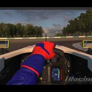 iRacing Hotlap 1:48:6 Twin Ring Motegi Formule.R2.0 S4Week7