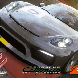 Assetto Corsa - DLC - Porsche 718 Cayman GT4 Clubsport  @ Catalunya - PC 60FPS