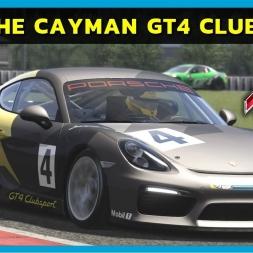 Assetto Corsa - Porsche Cayman GT4 Clubsport at Nurburgring (PT-BR)