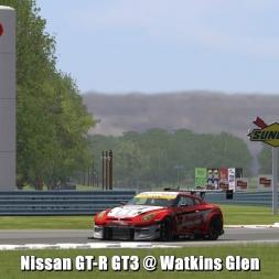 Nissan GT-R GT3 @ Watkins Glen - Automobilista 60FPS