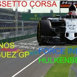 AssettoCorsa 1.9.1 F1 ACFL 2016 V4 02 FORCE INDIA HULKENBERG MEXICO GP