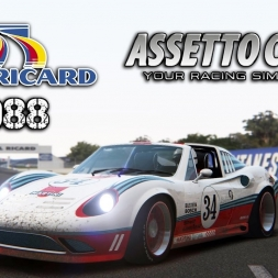 Assetto Corsa | Veloce GTS-8 @ Paul Ricard 1988