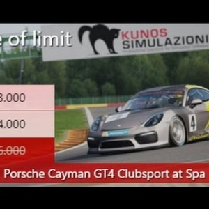 Assetto Corsa Special Event Edge of Limit Bronze