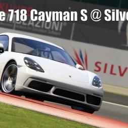 Porsche Cayman 718 @ Silverstone