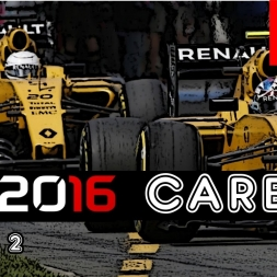 F1 2016 Career - S2R7: Canada - Ultra Soft Strategy