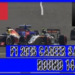 F1 2016 Career Mode Sauber - Round 14 Ok After You Perez...