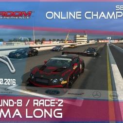 RaceRoom | GTR3/S1: Online Championship`16 (Final R-8/Race-2 Sonoma Long)
