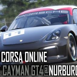 Assetto Corsa ONLINE : Porsche Cayman GT4 @ Nurburgring