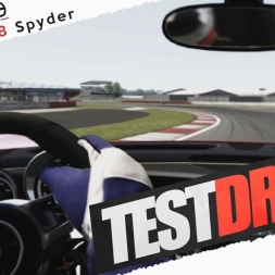 Assetto Corsa Porsche Pack Vol1 918 Spyder Real Onboard Cam at Silverstone