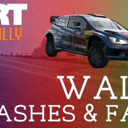 DiRT Rally | Wales - Crashes & Fails